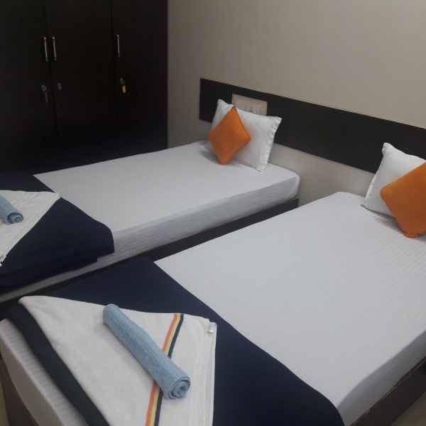 1, 2 room serviced apartment near Jupiter hospital - Thane patient guardian accommodation
