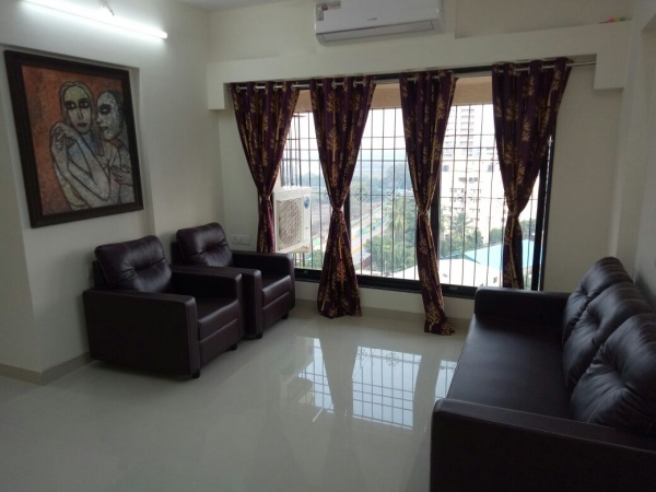 1, 2, 3 bhk flat on rent in Powai near Crisil House - one , two bhk flat rentals near Colgate Palmolive India