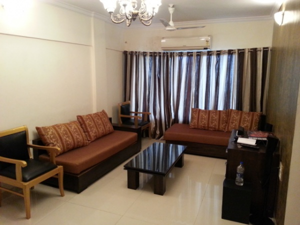 1, 2 bhk serviced apartment near Hallmark Business Plaza BKC - Bandra Kurla comples service apartment near Hallmark Business Plaza