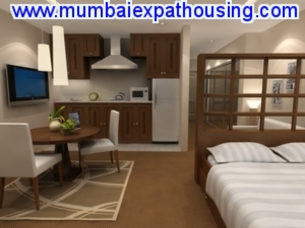 Bandra ambedkar road furnished 1bk,1Rk on rent near statue