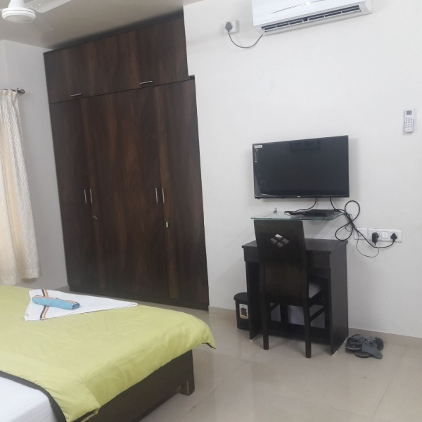 Thane 2,3BHK serviced apartment opp Mercedes Benz showroom Audi Jeep Ghodbunder road